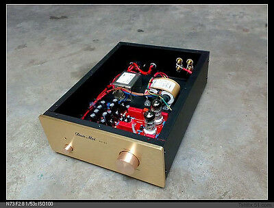 Finished Tube 6N11 X-10D Buffer Pre AMP preamplifier Base on Musical Fidelity