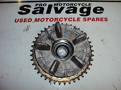 Triumph T 100 Bonneville 2004 - 2009:sprocket Carrier - Rear:used Motorcycle