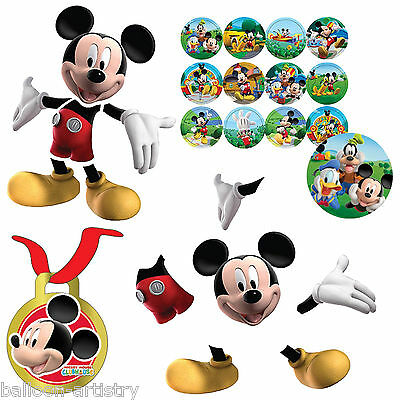 17 Piece Disney Mickey Mouse Playful Clubhouse FIND MICKEY Party Game Set