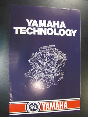 Brochure Yamaha Technology (Engels) 1983