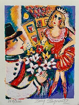 "ZAMY STEYNOVITZ ""FLOWERS FOR THE DANCER"" Hand Signed Limited Edition Lithograph"
