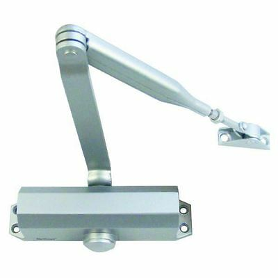 Briton Automatic Overhead Metal Door Closer Soft Close Silver Series S 121Ce