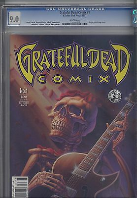 Grateful Dead #1 CGC 9.0 Kitchen Sink 1991 Magazine Make an Offer!