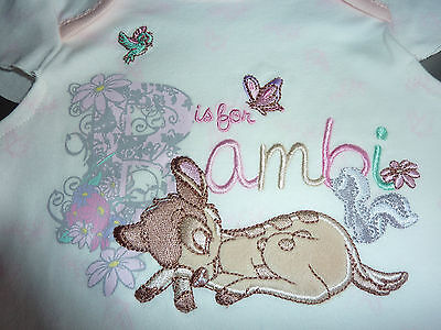 DISNEY Really Cute Little Girls BAMBI PJ's NWT