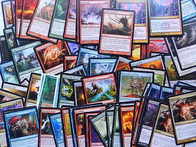 XXX 100 RARES englisch diverse editionen magic the gathering max 4 EXC-MINT XXX