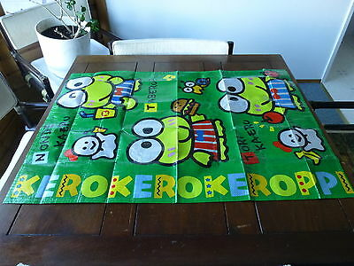 Vtg Collectible 1992 Sanrio Co. Colorful Keroppi Wall Hanging Made In Japan, Nib