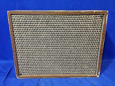 RCA VICTOR Wood Cabinet For Wall Speaker PA System Jukebox