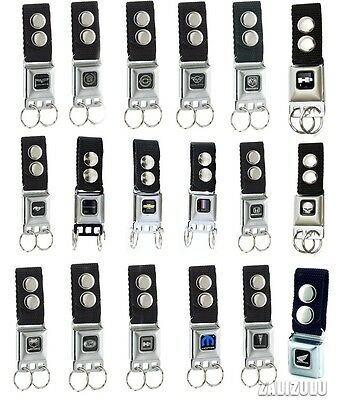 Car Brands Seatbelt Buckle Keychain - Multiple Styles Key Chains - Licensed