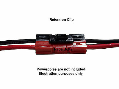 TORBERRY ANDERSON RETENTION CLIP FOR 15, 30 or 45 AMP POWERPOLE PLUG CONNECTORS