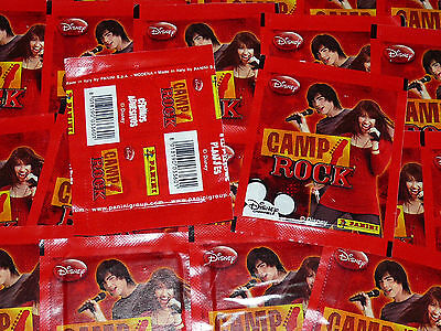 Panini Camp Rock 40 Pochettes 2009 200 Stickers Disney