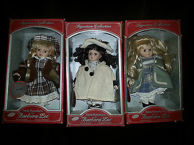 Petite Porcelain Signature Collection by Barbara Lee (Limited Editions) Set of 3