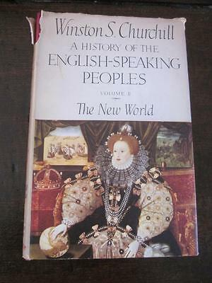 Vintage Book Winston S Churchill History of English Speaking Peoples Volume 2