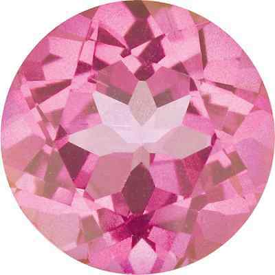 Natural Mystic Pink Topaz - Round  - Brazil - Top Grade - Loose Gemstone
