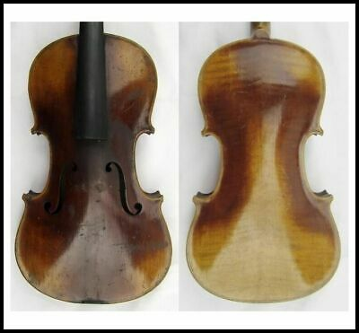 Fine Old Vintage 4/4 Violin Labeled Josef Lidl v Brne na Morave early 1900's