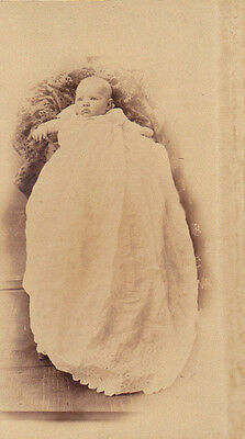 Late 19th Century Baby Child Cabinet Photo