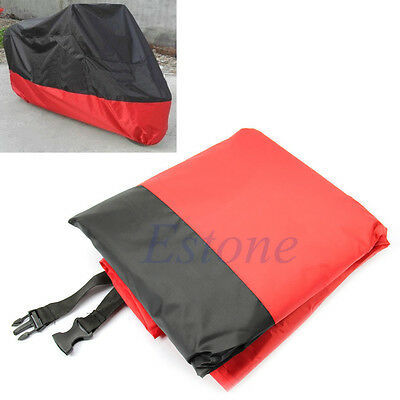 Motorcycle UV Protective Waterproof Scooter Rain Breathable Street Bikes Cover