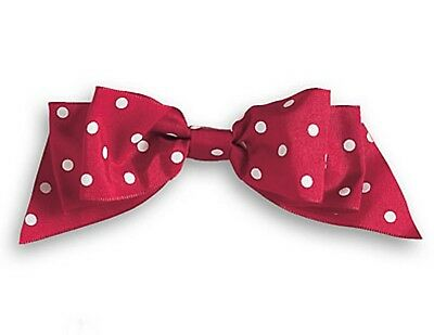 American Girl Kit's Christmas Hair Bow Authentic NEW Red Last One