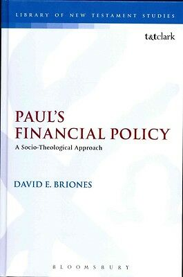 NEW Paul's Financial Policy by David E Briones Hardcover Book (English) Free Shi