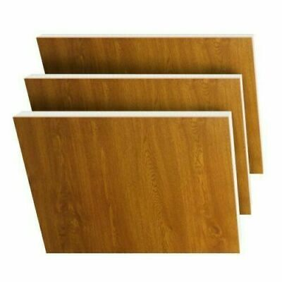 Oak / Oak on White uPVC Flat Door Panel 20mm/24mm/28mm. 780mmX950mm