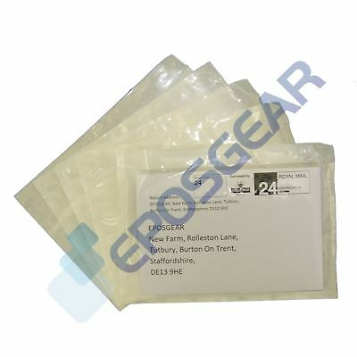 100 A6/C6 158mm x 110mm Plain Documents Enclosed Sticky Wallets Envelopes