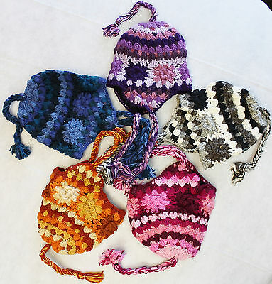c0d254a9a1a R685 Wholesale Lot Gorgeous Hand Knitted Ear Flap Woolen Hat Cap Made in  Nepal