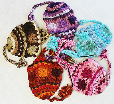 a4c98085ccc R690 Wholesale Lot Gorgeous Hand Knitted Ear Flap Woolen Hat Cap Made in  Nepal