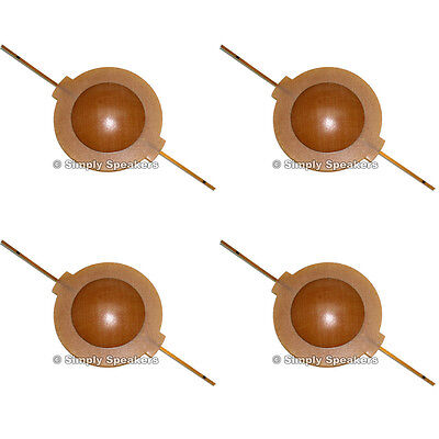 Diaphragm for Klipsch Heresy Speaker Horn Tweeter SS Audio Repair Parts 4 Pack