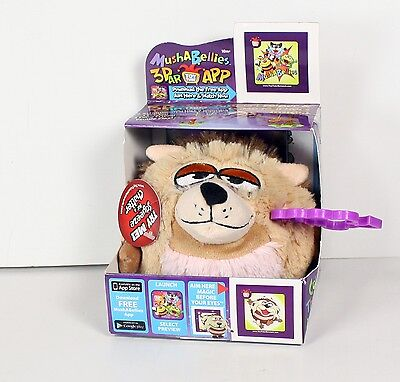 Mushabellies with Chatter -Heckel Hedgehog Mushabelly Soft Plush Toy 3D APP