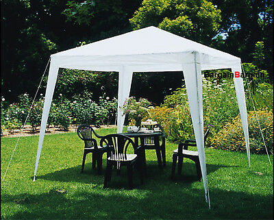 3x3m navy PE easy up outdoor party market gazebo marquee canopy tent big