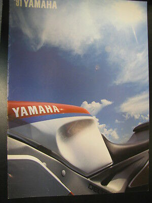 Folder / Brochure Yamaha Totaalprogramma 1991 (Nederlands)