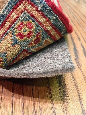 """5'x8' Full 1/4"""" Thick Shaw Recycled Felt Rug Pad for Hard Floors"""