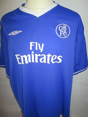 Chelsea 2003-2005 Reversible Home Football Shirt Size Extra Extra Large XXL