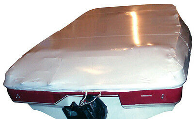 Boat, Marine, Construction Shrink Wrap 14' x 128', Protect Blue