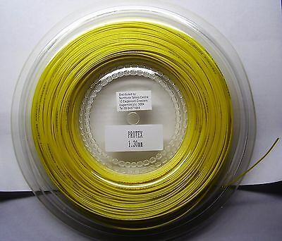 Crescent Protex Poly Tennis String 1.25Mm Or 1.3Mm Gauge 200Mtr Spool