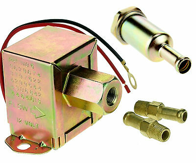 Heavy Duty Will Suit Diesel Petrol Universal 12v Electric Fuel Pump Kit NEW