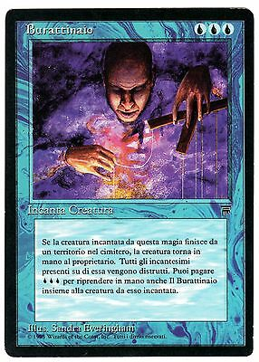 Burattinaio - Puppet Master 1x (ITALIAN LEGENDS - Leggende) carte Magic EXC