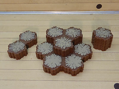 Heroscape Terrain Lot - 28 Hexes Sand Tiles - Expand Your Battlefield Map
