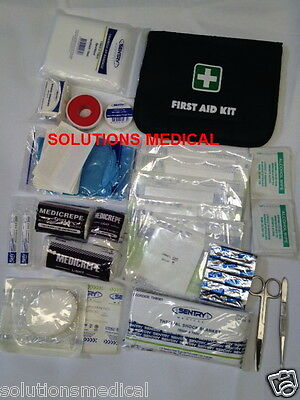 FIRST AID KIT 58 PIECE AMAZING VALUE No 2 ALL PURPOSE HOME TRAVELLER CAMPER