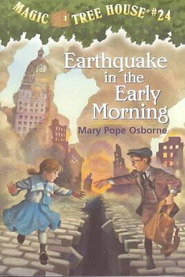 EARTHQUAKE IN THE EARLY MORNING - SAL MURDOCCA MARY POPE OSBORNE (PAPERBACK) NEW