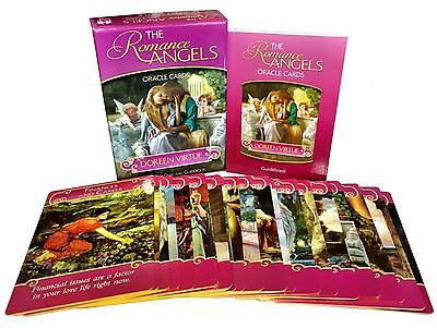 Romance Angels Tarot Cards Oracle Deck Doreen Virtue Psychic, Mind, Body, Love