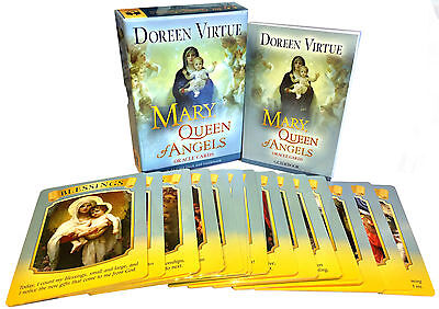 Mother Mary, Queen of Angels Tarot Cards Oracle Deck Doreen Virtue Psychic Read