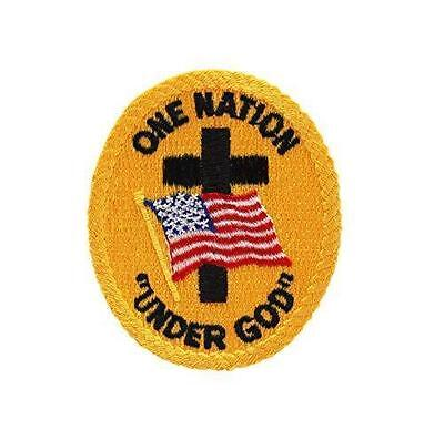 U.S. United States Flag One Nation Under God Patch