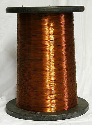 Copper magnet wire various sizes (8.0 - 28.0 AWG) SOLD BY POUND