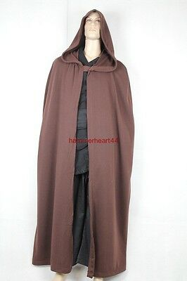LUKE Skywalker ROBE Jedi Cloak Costume star wars halloween party wear ROTJ
