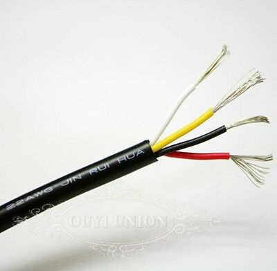 4 Cores Wire Flexible Points & Signal Multicore Cable Small Power Data AUTO CAR