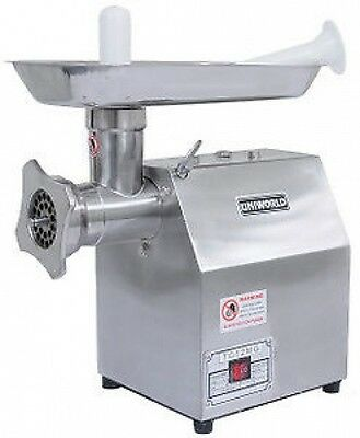 Uniworld NTC-12MG Commercial Electric Meat Grinder 1HP 250Lbs/Hr