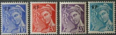 Stamp / Timbre De France Neuf Luxe N° 657/660 ** Type Mercure