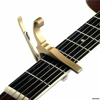 NEW KYSER GOLD KG6G QUICK CHANGE 6 STRING ACOUSTIC GUITAR CAPO +FREE SHIPPING