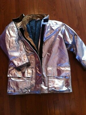 QUAKER Firefighter Proximity Jacket 42 46 Excellent Condition Turnout Bunker