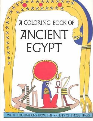 A Coloring Book Of Ancient Egypt - Not Available (Na) - New Paperback Book